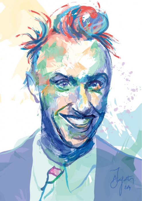 Stars Portraits - Portrait of Yves Tanguy by jamesaugustinYves Tanguy Portrait